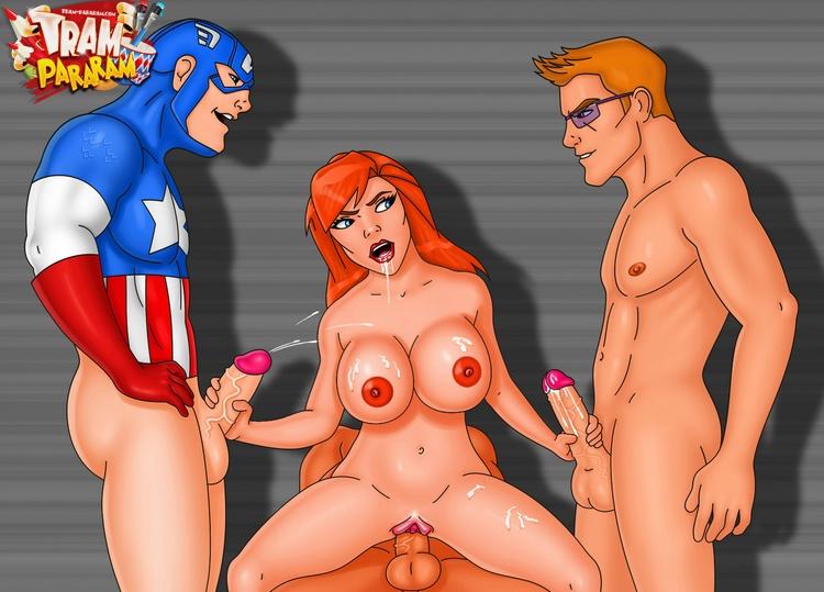 капитан батт порно